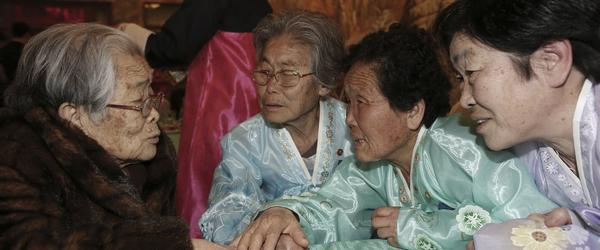 Headline for Separated Family Reunion Meeting at Diamond Mountain resort in North Korea on Thursday