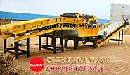 Top-notch Commercial Wood Chipper for Sale- EcoStan® - ECOSTAN