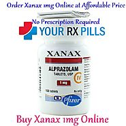 Buy Xanax 1mg, 2mg Online at Affordable Price No Prescription Required