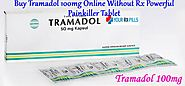 Buy Tramadol 100mg Online Without Rx - Painkiller Tablet