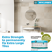 MYK LATICRETE Tile Adhesives for Large Format tiles