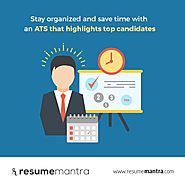 Save Hiring Time with resumemantra ATS