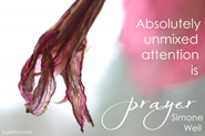 intentionally focused contemplation: prayer beyond belief