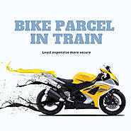 Economical and reliable way to bike pracel in train