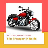 Packers and movers for bike shifting in Noida