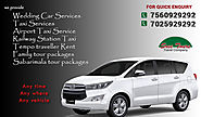 Hire Marriage Cars in Trivandrum, The Best from Sree Tour