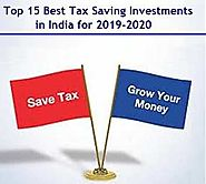 Top 15 Best Tax Saving Investments for 2019-2020 | Myinvestmentideas.com