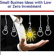 90 Good Small Business Ideas with Low Investment | Myinvestmentideas.com