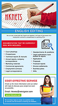 What all documents can be edited professionally?