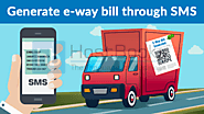 How to generate e-way bill through SMS? - HostBooks