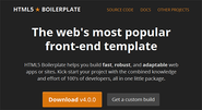 HTML5 Boilerplate: The web's most popular front-end template