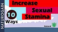 How to Increase Male Sexual Stamina, Enhance Energy, Best Natural Ways?