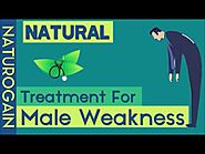 Best Natural Male Weakness Treatment to Improve Energy Levels, Stamina