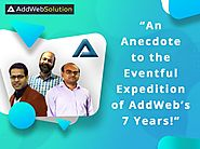 An Anecdote to the Eventful Expedition of AddWeb's 7 Years! | AddWeb Solution