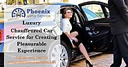 Phoenix Limo Deals: Luxury Chauffeured Car Service for Creating Pleasurable Experience
