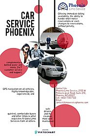 Car Service Phoenix | Piktochart Visual Editor