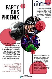 Party Bus Phoenix | Piktochart Visual Editor