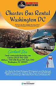 Charter Bus Rental Washington DC | Piktochart Visual Editor
