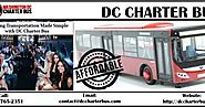 Wedding Transportation Made Simple with DC Charter Bus