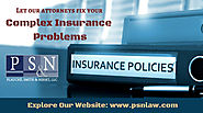 Excellent Law Firms of Insurance Attorneys