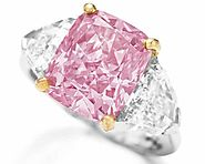 The Vivid Pink, a Fancy Vivid Pink diamond, 5.00 carats; Sold for $10,776,660 in 2009