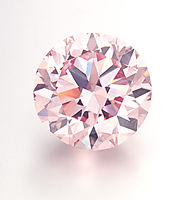 The Martian Pink, a brilliant-cut Fancy Intense Pink diamond, 12.04 carats Sold for $17,395,728 in 2012