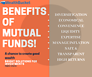 Benefits of mutual funds | What are mutual funds | WealthBucket |