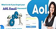 What To Do If You Forget Your AOL Email Password?