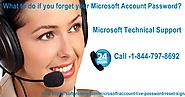 What to do if you forget your Microsoft Account Password?