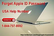Forget Apple ID Password-Help Number 1-844-797-8692