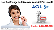 How To Change and Recover Your Aol Password?