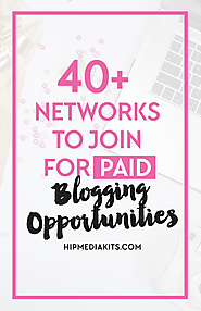 40+ Networks You Can Join To Make More Money Blogging
