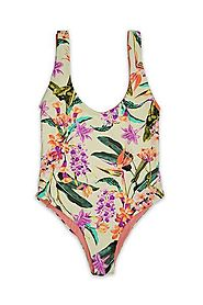 Birds Of ParadiseOne Piece Swimsuit