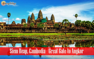 Siem Reap, Cambodia: Great Gate to Angkor