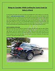 Auto Café of Florida: Used Car Dealer In Miami With Top Quality Cars