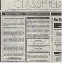 `Book classified ads in Leading Newspaper