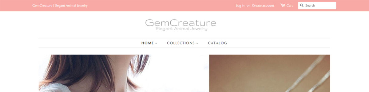 Headline for Elegant Animal Jewelry | Gemcreature