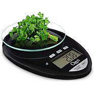 Ozeri Pro II Digital Kitchen Scale with Countdown Kitchen Timer, Black - Walmart.com