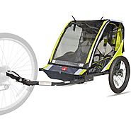 Allen Sports Deluxe 2-Child Bike Trailer - Walmart.com