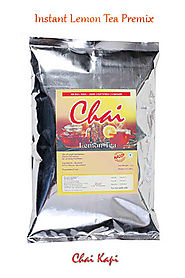 Instant Premix Lemon Tea Powder Manufacturer And Supplier | Chaik
