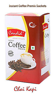 Coffee Premix Sachets Manufacturer And Supplier | Chaikapi Services