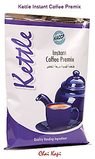 Kettle Instant Coffee Premix Powder | Sachets | Chaikapi Services