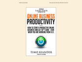 ✔ Online Business Productivity - book of the week by Timo Kiander