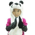 Hee Fly Plush Animal Winter Hats with Paws Type Panda
