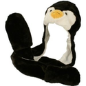 Penguin Plush Animal Hat with scarf & mittens 3 in 1 combo