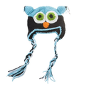 Neewer Fashion Toddler Baby Girls Boys Cute Owls Animal Crochet Knit Woolly Cap Ear Hat