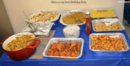 Divya's culinary journey: My Son's Birthday Party Menu- Indian Party Menu Ideas