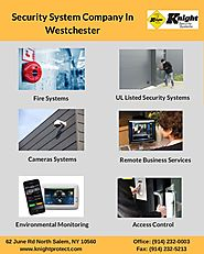Security System Company In Westchester