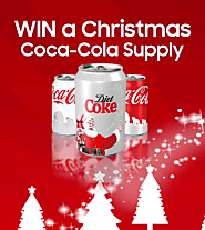 Win a Christmas supply of Coca Cola - UK – WhyPayFull
