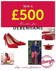 Win Debenhams £500 Voucher - UK – WhyPayFull
